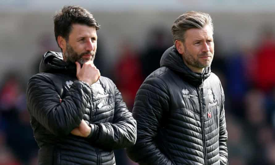 Danny Cowley and Nicky Cowley