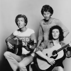 The Walker Brothers in July 1976, following their reunion