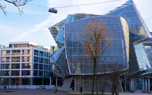 The Frank Gehry-designed building at the heart of the Novartis Campus.