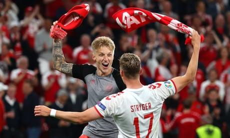 Denmark's joy: heroic win seals Euros progress – in pictures