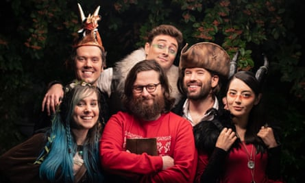 'It's improv theatre with dice' … the cast of gaming channel Oxventure.