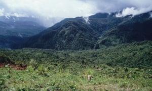 Mountains Membegan West Papua
