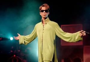 Prince in 1997.