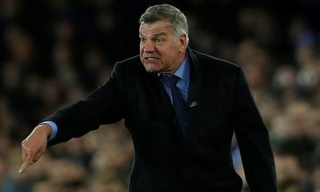Sam Allardyce set to miss Everton's Europa League match to focus on derby