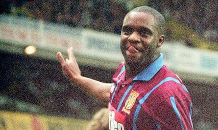 Former Aston Villa footballer Dalian Atkinson