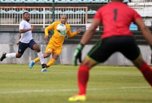 Saint-Pierroise play in the Réunion Premier League, a level comparable to the sixth tier of France's regionally divided football pyramid