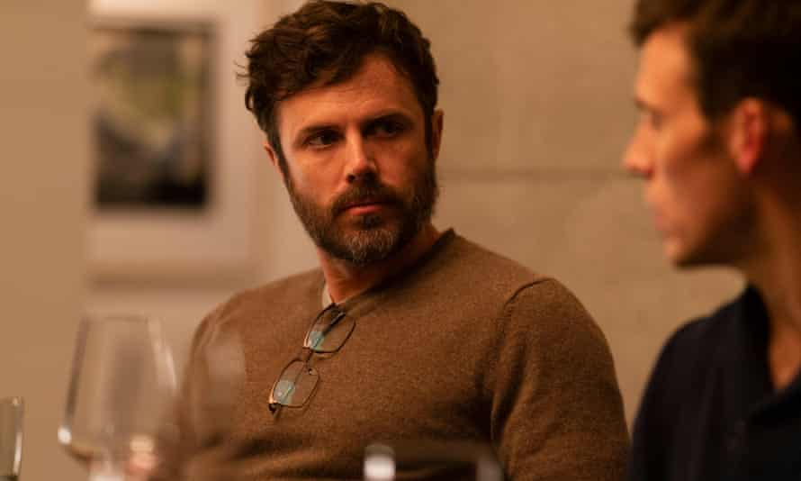 Wake me up before you go go ... Casey Affleck, left, and Sam Claflin in Every Breath You Take.