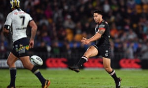 Shaun Johnson is at the height of his game for the Warriors.