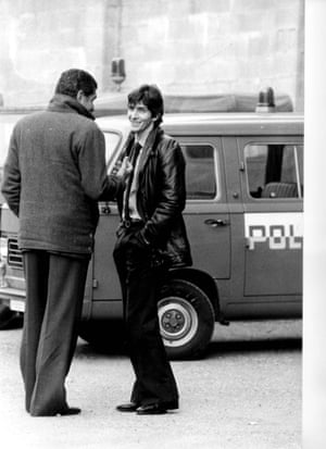 Paolo Rossi outside an Italian court in 1980.