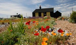 Derek Jarman's home and garden at Dungeness in Kent
