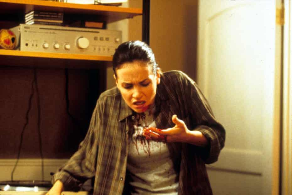 Kristen Cloke in the first Final Destination film, 2000