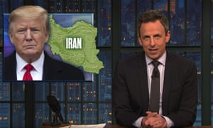 'I'm not inclined to trust an administration that lies about everything' ... Seth Meyers