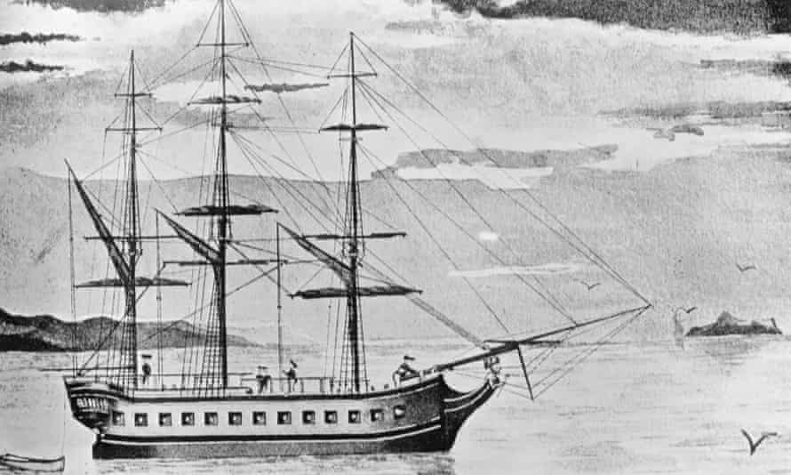 HMS Resolution, which James Cook used to circumnavigate Antarctica.