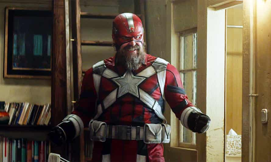 David Harbor as the Red Guardian.