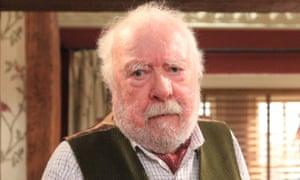 Greatly missed … Jones as Sandy Thomas in Emmerdale.