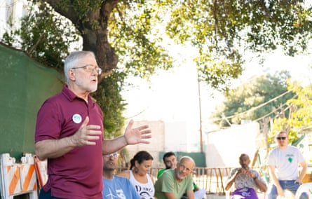 Howie Hawkins is a former UPS worker and longtime political activist,