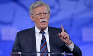 'I have never been shy about what my views are,' John Bolton has said.