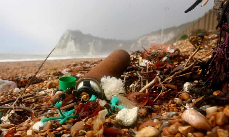 Conservationists have urged people to stop flushing wet wipes down the toilet after the number of them found on beaches increased by 50% in 2014.