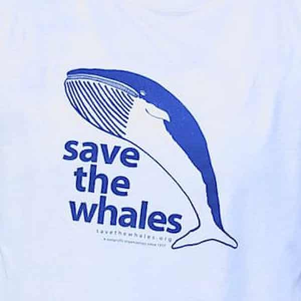Save the Whales initial design by Maris Sidenstecker