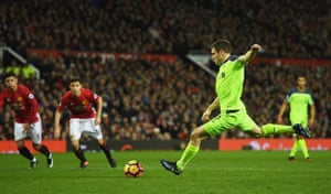 Milner lashes the penalty home.