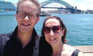 Julie Annakin and her husband David