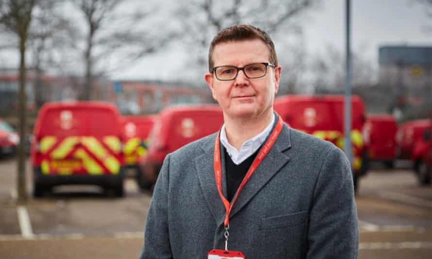 Simon Thompson, a newly appointed CEO of Royal Mail.