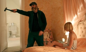 Joaquin Phoenix and Ekaterina Samsonov in You Were Never Really Here.