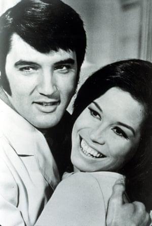 With Elvis Presley in the 1970 film Change of Habit