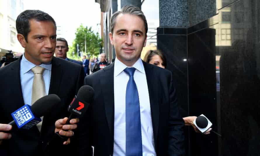 Commonwealth Bank CEO Matt Comyn leaves the royal commission