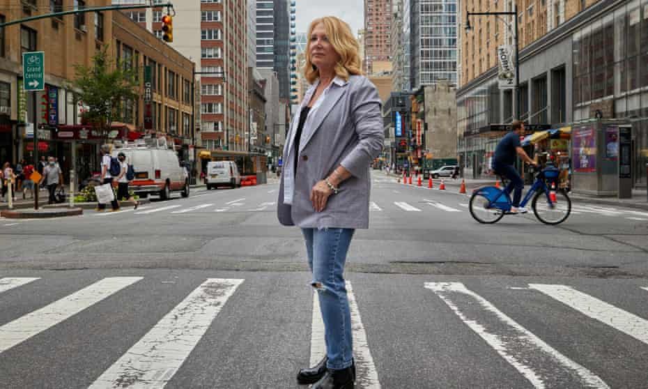 Journalist and author Julie K Brown photographed in New York.