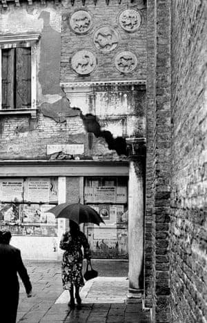 Venice in the rain, 1954