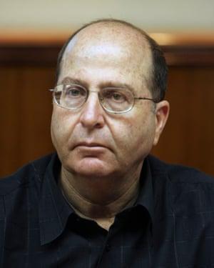 Moshe Ya'alon.