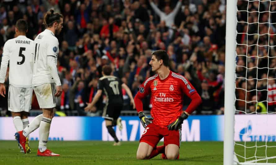 Real Madrid have been knocked out of the Champions League for the first time since they lost the 2015 semi-final to Juventus.