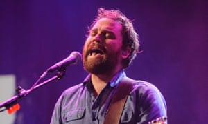Scott Hutchison performing with Frightened Rabbit in 2012.