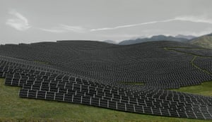 Les Mées, 2016, by Andreas Gursky.