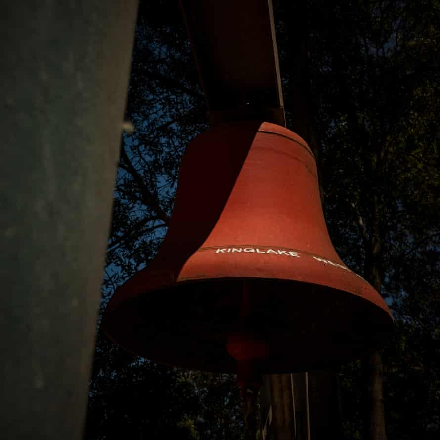 The Kinglake West fire bell which is sounded on the 7th February in memorium of those who died during the 2009 Black Saturday fires