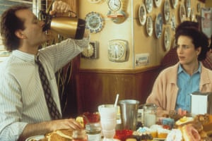 MacDowell with Bill Murray in Groundhog Day.