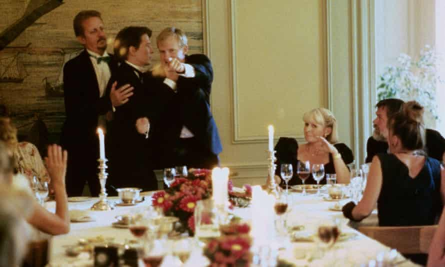 Bleakly comic … the 1998 Danish film Festen.