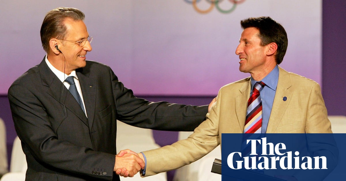 Sebastian Coe leads tributes to Jacques Rogge after death of former IOC chief
