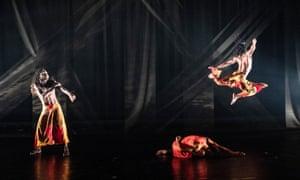 Ayikodans in Let's Dance International Frontiers.