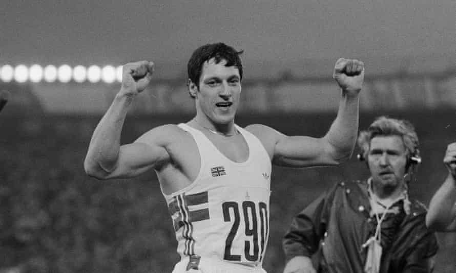 Allan Wells, who in 1980 became the last white man to win the 100m Olympic final.