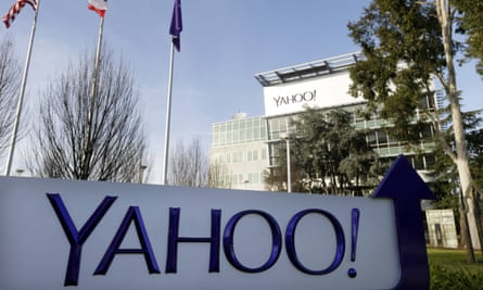 FILE - This Jan. 14, 2015 file photo shows Yahoo's headquarters in Sunnyvale, Calif. On Thursday, Sept. 22, 2016, the company disclosed hackers stole sensitive information from at least 500 million accounts. (AP Photo/Marcio Jose Sanchez, File)