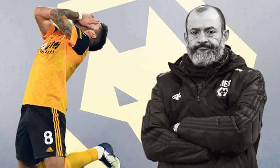 Nuno Espírito Santo faces a dilemma: with a back three Wolves are solid but cannot score; with a back four they are more creative but also far less secure.