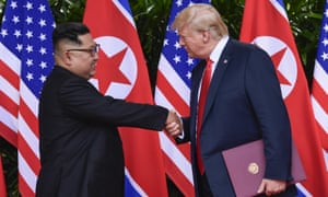 Donald Trump portrayed the June summit with Kim Jong-un as a breakthrough.
