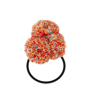 """£2.99, <a href=""""http://www.newlook.com/shop/womens/jewellery-and-hair-accessories/multicoloured-pom-pom-hairband-_367964199"""">newlook.com </a>"""