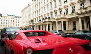 More than a third of the £1m earners live in London with more than 2,000 in Kensington and Chelsea and 1,400 in the Westminster.