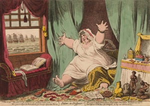James Gillray's caricature Dido in Despair.