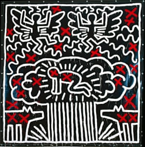 Keith Haring Untitled 1982.