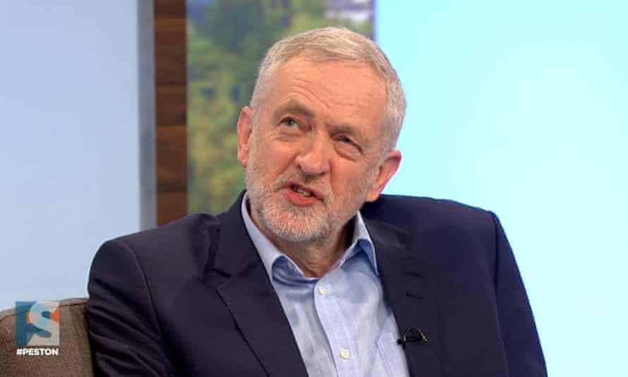 Jeremy Corbyn on Peston on Sunday.