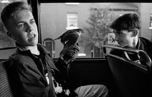 Dublin Bus, 1989 © Tony O'SheaRead more on this image (will be live sunday 18th) https://www.theguardian.com/theobserver/series/the-big-picture